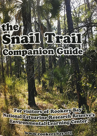 the Snail Trail Companion Guide | Books | Nature Store | Rookery Bay Research Reserve