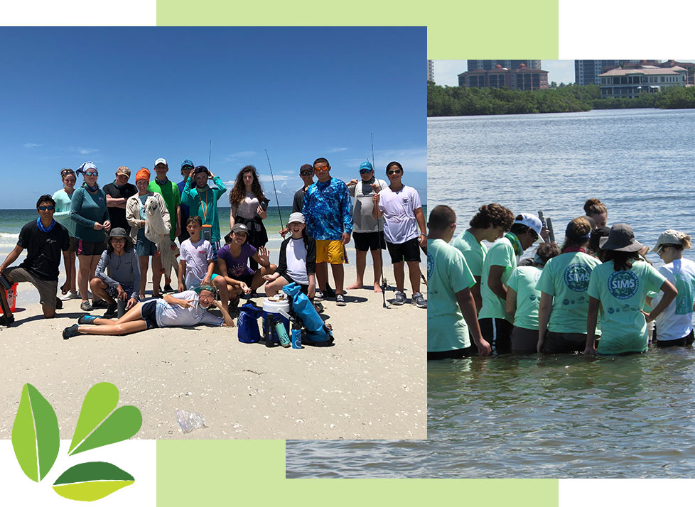 Summer Institute for Marine Science at Rookery Bay | National Estuarine Research Reserve