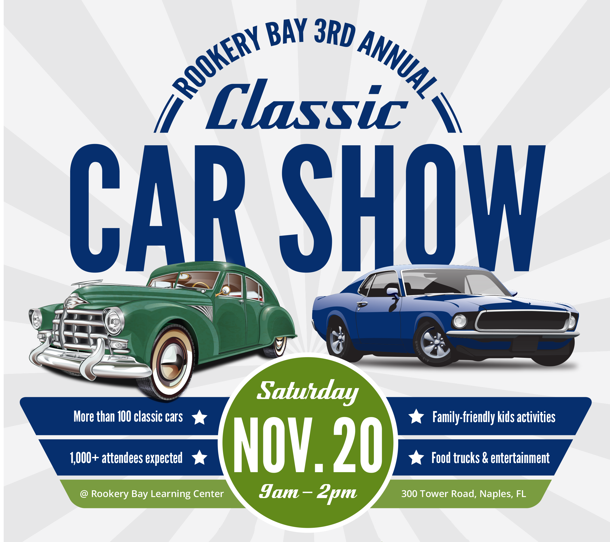 2020 Classic Car Show   Family Events   Rookery Bay Research Reserve