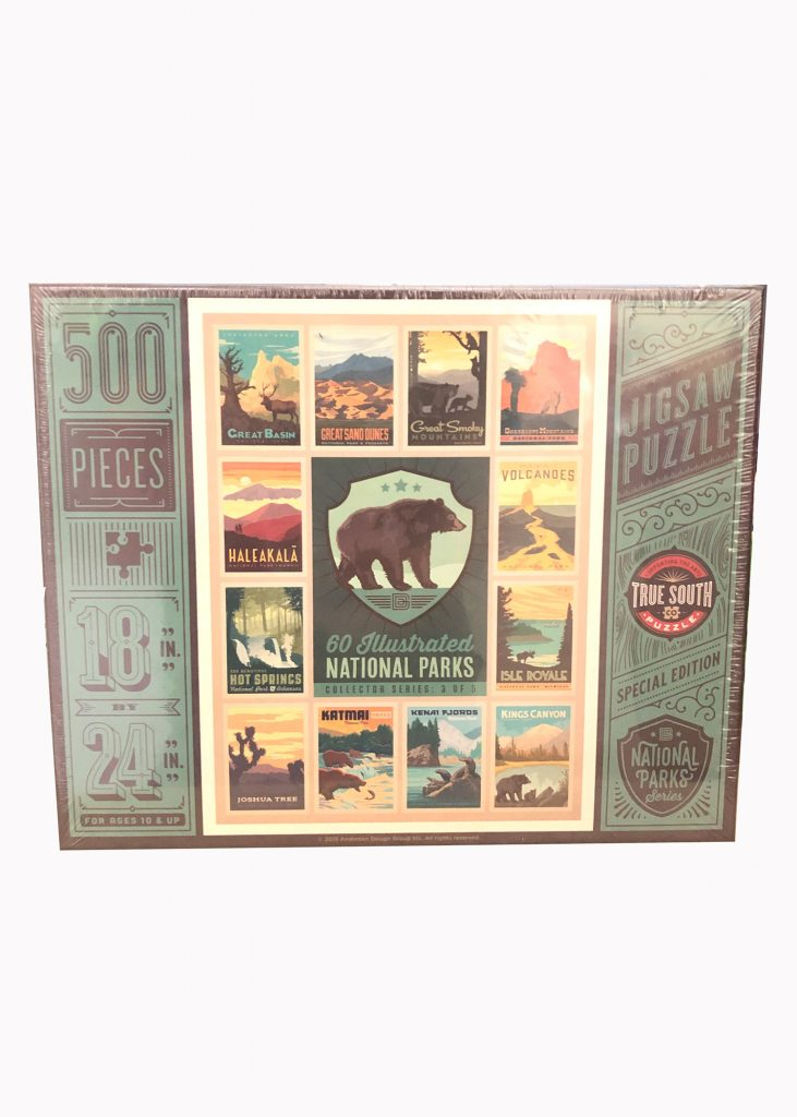 True South Puzzles | 500 Pieces | Nature Store | Shop | Rookery Bay National Estuarine Research Reserve