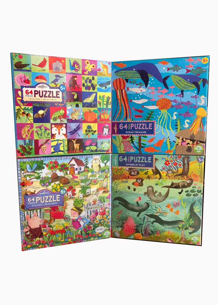 64pc Puzzle by eeBoo | Nature Store | Rookery Bay Research Reserve