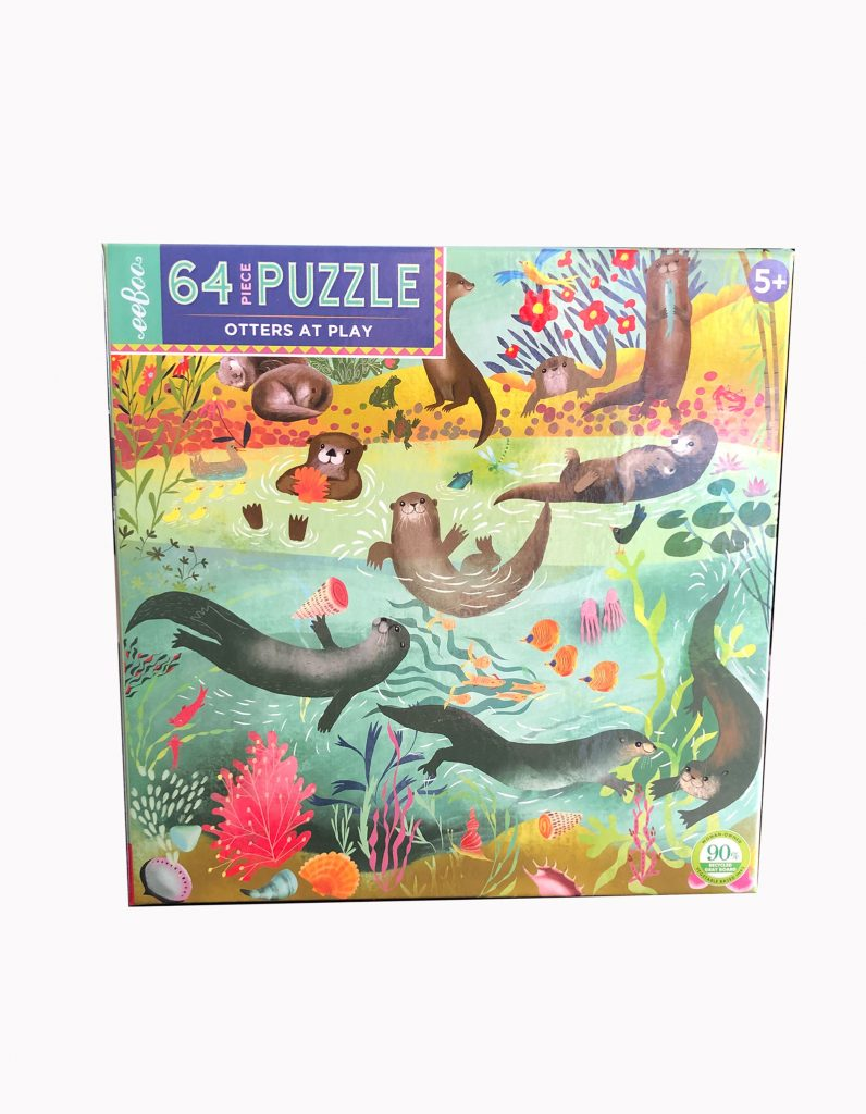 Life on Earth Puzzle | eeBoo | Nature Store | Rookery Bay Research Reserve64pc Puzzle by eeBoo | Nature Store | Rookery Bay Research Reserve