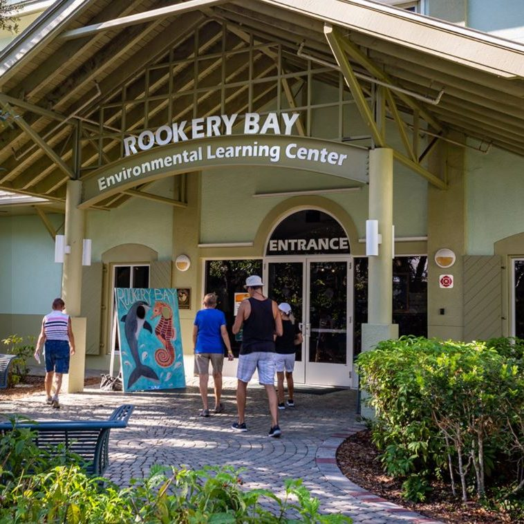 Environmental Learning Center | Rookery Bay Research Reserve Entrance