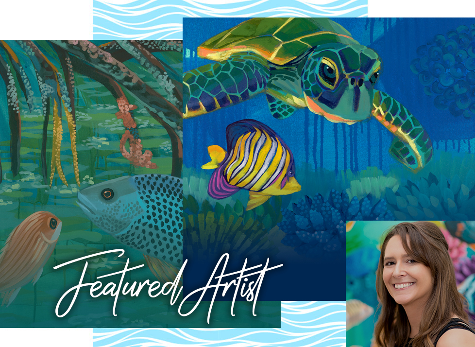 Feature Artist in Naples | Rookery Bay Research Reserve