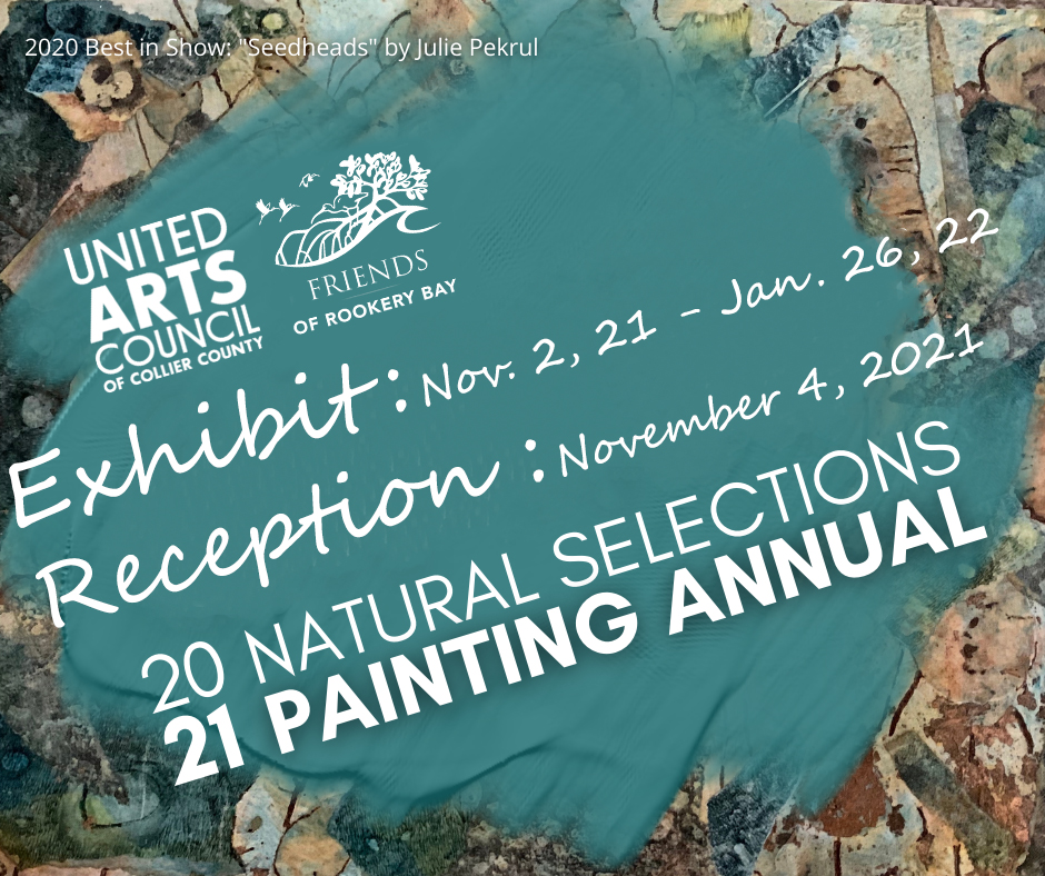 Painting Annual FB Call 2021 | Rookery Bay Research Reserve | Art Exhibitions and Receptions | Events