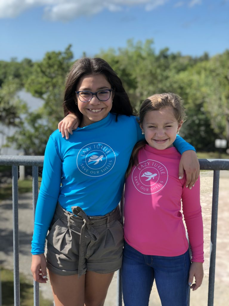 Lazy Turtle Kids Save Our Shells Long Sleeve Shirt | Nature Store | Rookery Bay Research Reserve