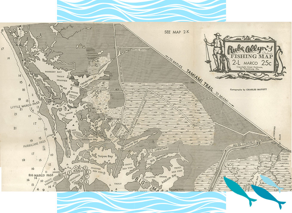 Rookery Bay Research Reserve History | Rube Allyn's Fishing Map