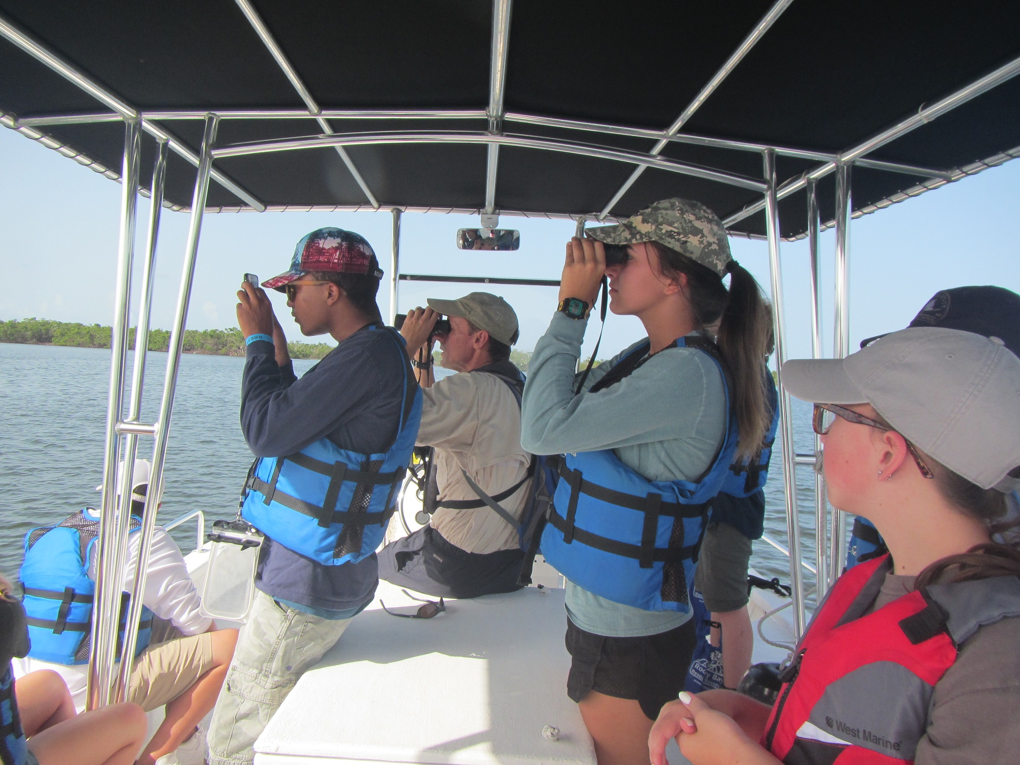 Summer Institute for Marine Science | SIMS | Rookery Bay Research Reserve