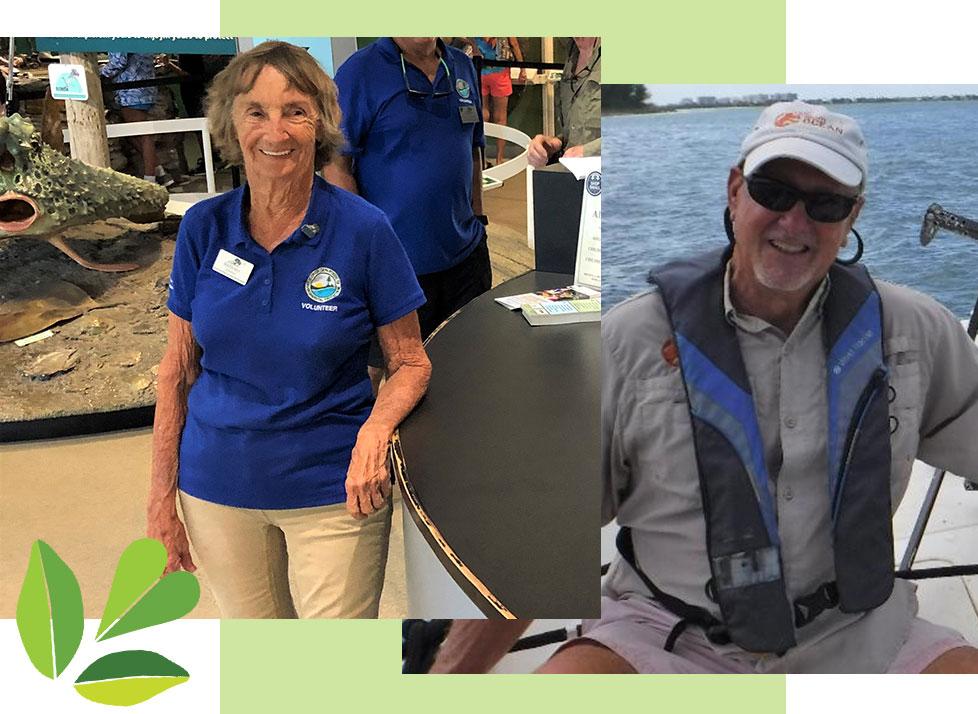 Barbara Clark and Lou Muzio   Volunteer Appreciation   Rookery Bay Research Reserve