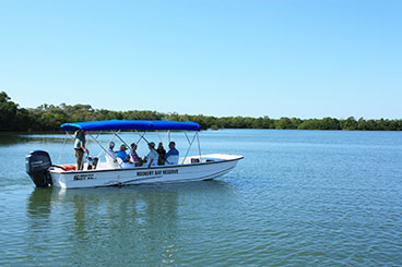 Boat Tour | Mega Menu | Rookery Bay Research Reserve