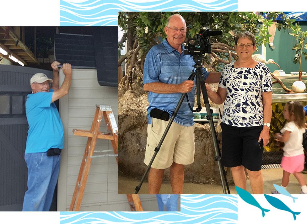 Bob Wickline   Volunteer Appreciation   Rookery Bay Research Reserve