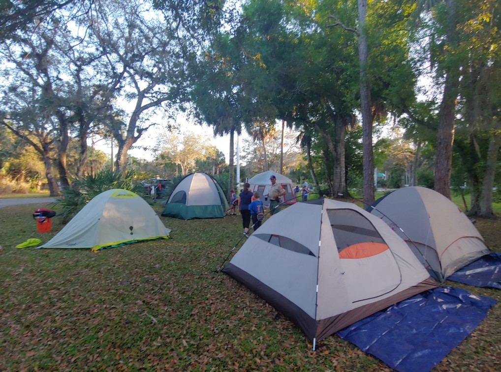 Family Campout | Events | Rookery Bay Research Reserve