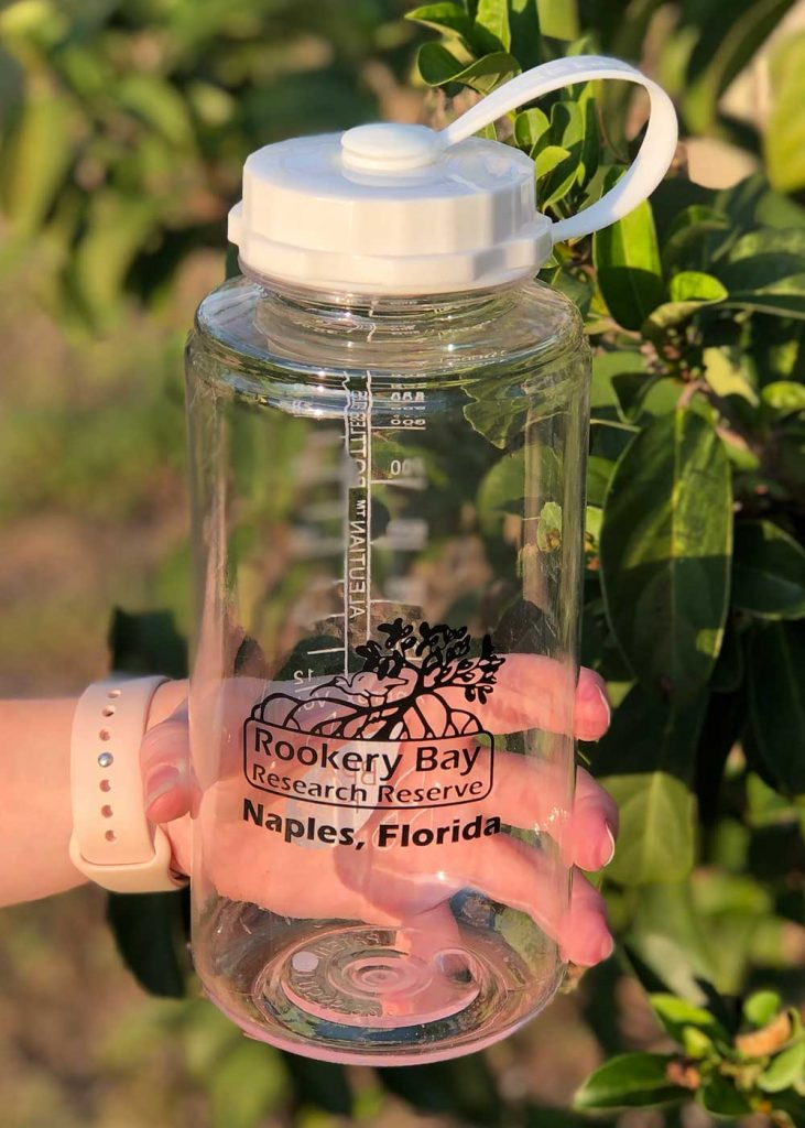 Clear Water Bottle | Nature Store | Rookery Bay Research Reserve