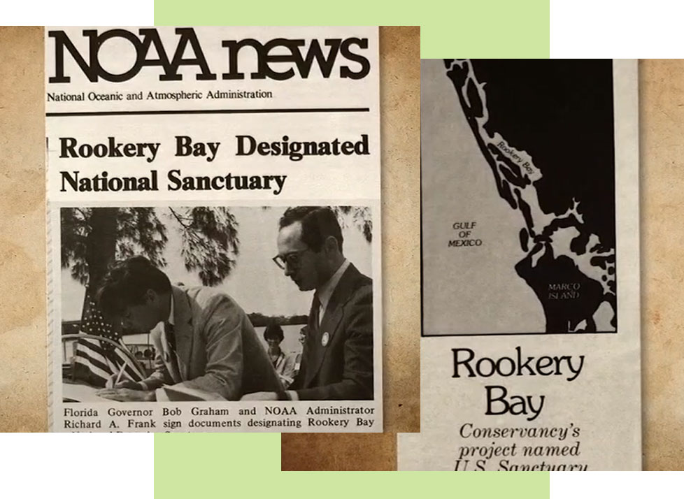 History | Rookery Bay Designated National Sanctuary | NOAA | Rookery Bay Research Reserve