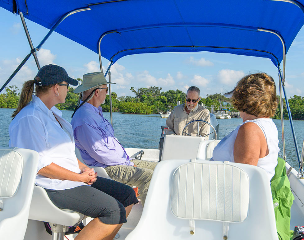 Guided Boat Tours are a great way to explore Rookery Bay | National Estuarine Research Reserve