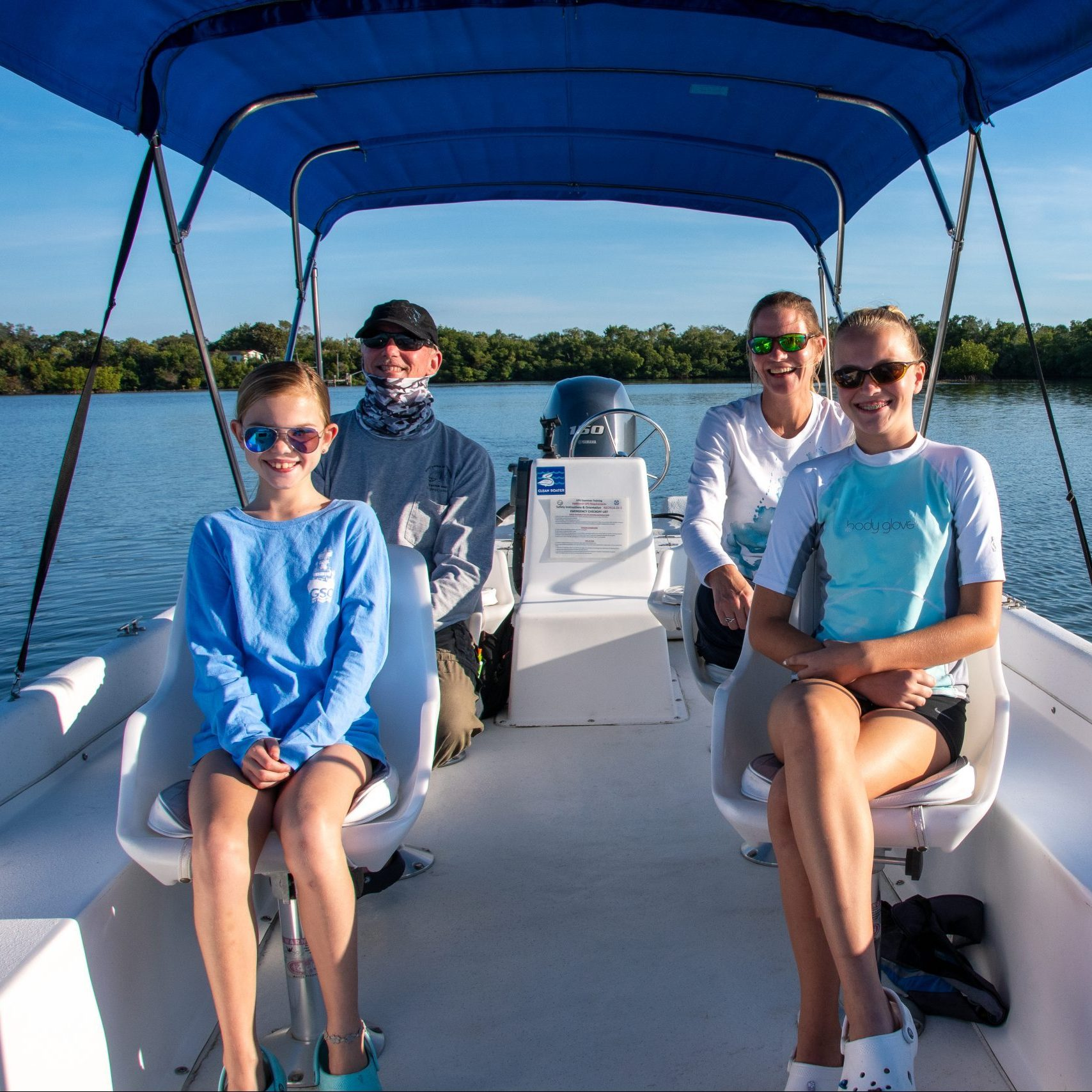 Boat Tours | Family | Eco-Tours | Dolphins, Manatees, Birds and Wildlife | Rookery Bay Research Reserve