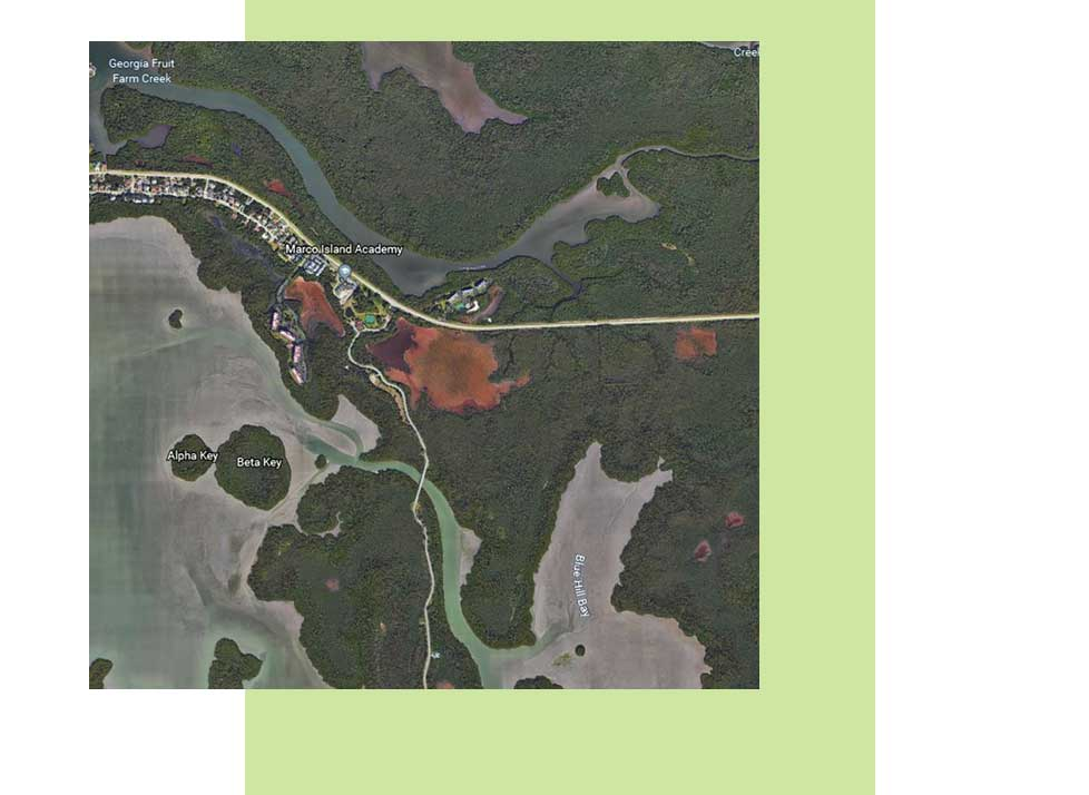 Fruit Farm Creek Map | Rookery Bay Research Reserve