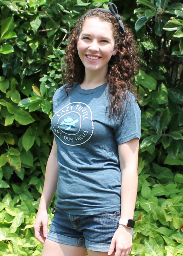 Lazy Turtle | Unisex T-shirt Front | Nature Store | Rookery Bay Research Reserve