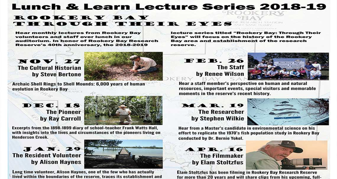 Lunch and Learn in Naples | Rookery Bay Research Reserve