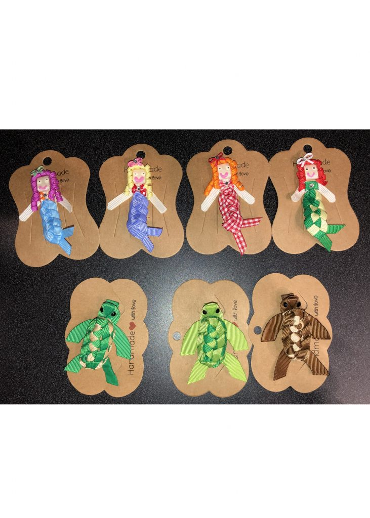 Barrettes | Turtles and Mermaids | Nature Store | Shop | Rookery Bay National Estuarine Research Reserve