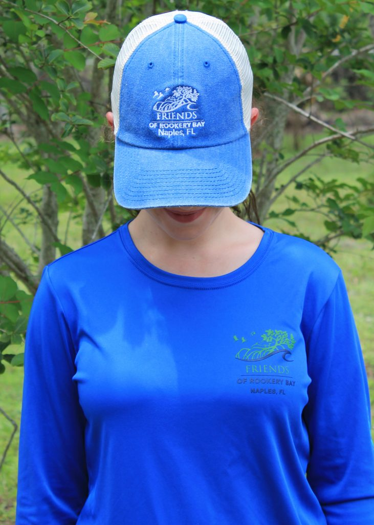 Mesh Ball Cap Blue | Nature Store | Shop | Rookery Bay National Estuarine Research Reserve