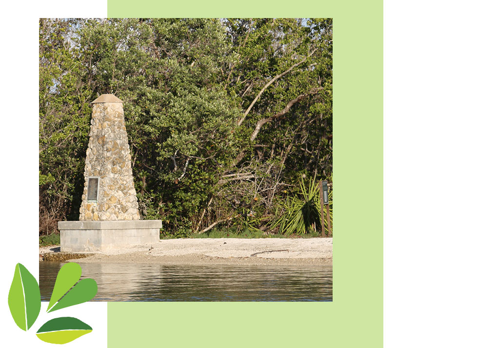 Monument | Recent History | Rookery Bay Research Reserve | Shell Island Road | Trail Through Time