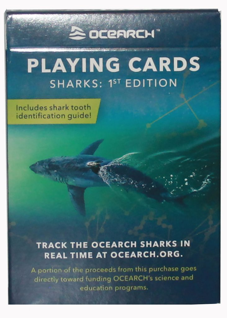 Ocearch Playing Cards | Nature Store | Rookery Bay Research Reserve