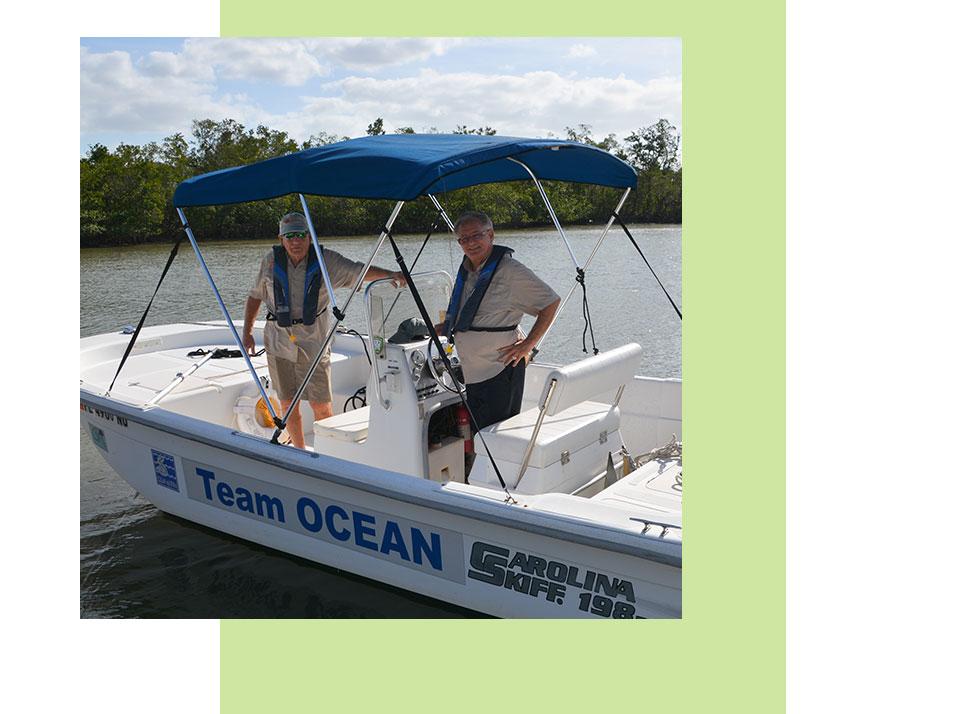 Team OCEAN Volunteers | Rookery Bay Research Reserve