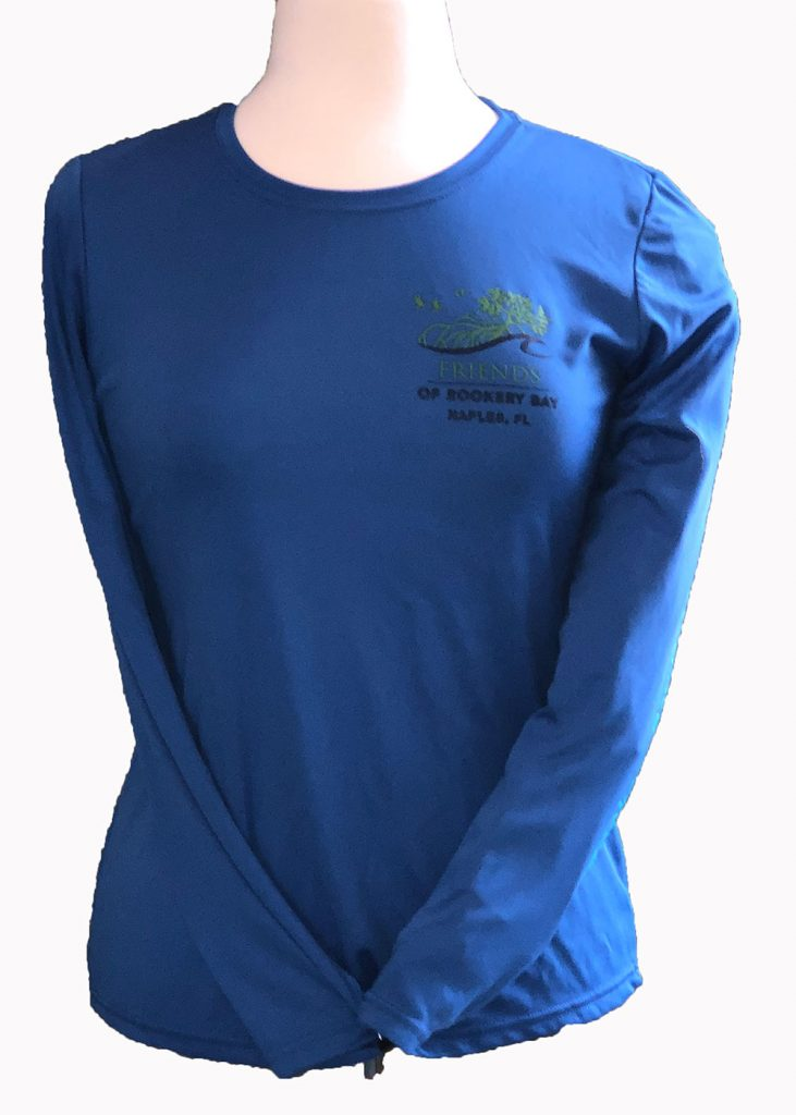 Tunaskin | Blue Women's Long Sleeve | Nature Store | Rookery Bay Research Reserve