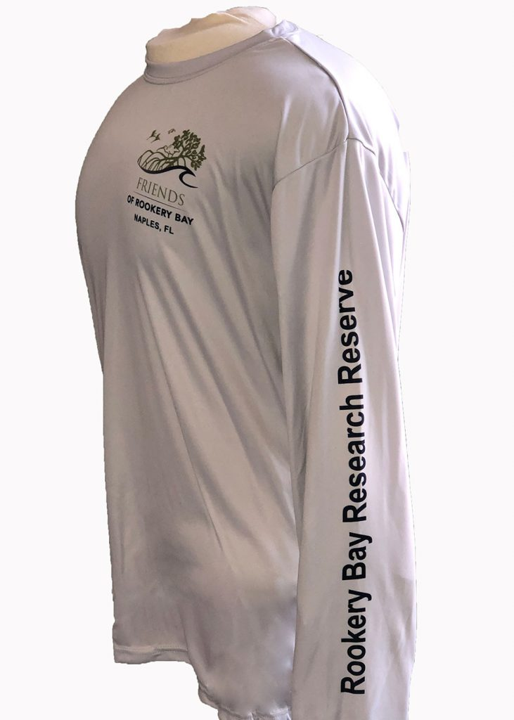 Tunaskin | Gray Men's Long Sleeve | Nature Store | Rookery Bay Research Reserve