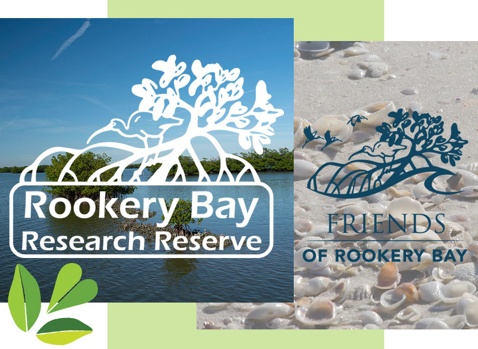 Rookery Bay Research Reserve and Friends of Rookery Bay Logos
