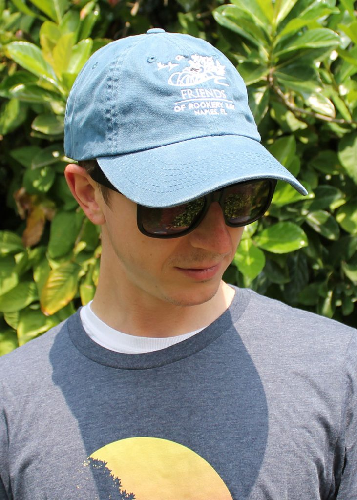 Blue Hat | Year Round Apparel | Unisex T-Shirt | Nature Store | Rookery Bay Research Reserve